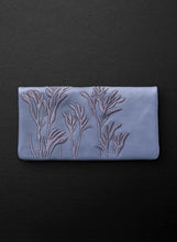 Kangaroo Paw Slimline Wallet - Blue Willow