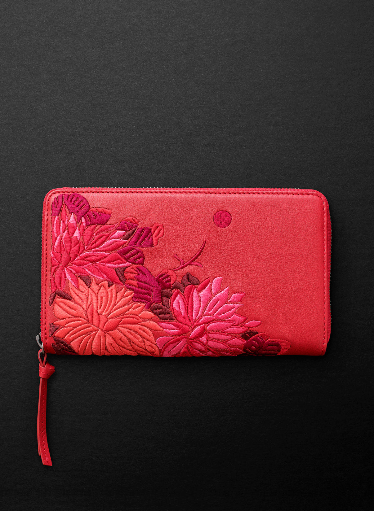 Lotus XL Zipped Wallet - Carmen