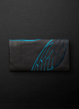 Papillon Slimline Wallet - Licorice/Teal