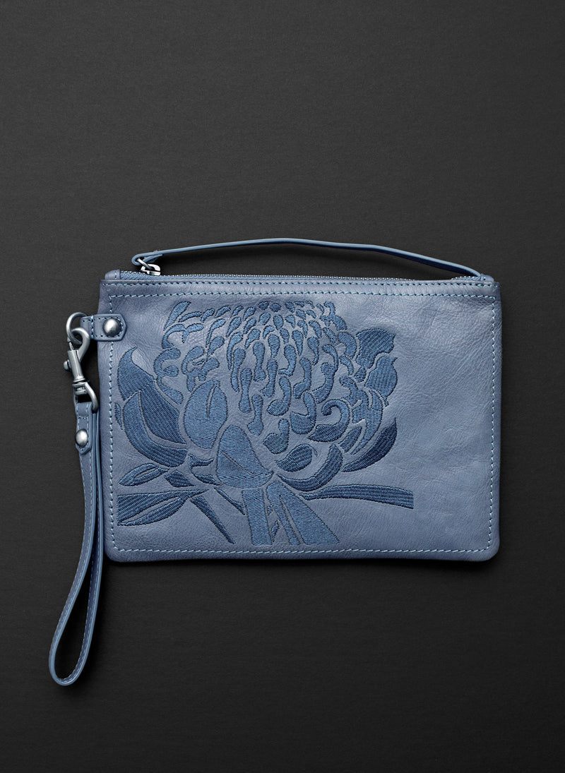 Waratah Clutch Bag - Belinda Pieris
