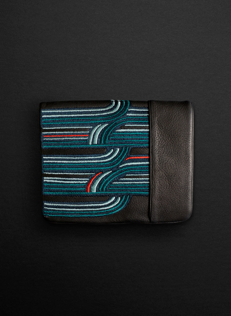 Retro Squire Wallet - Belinda Pieris