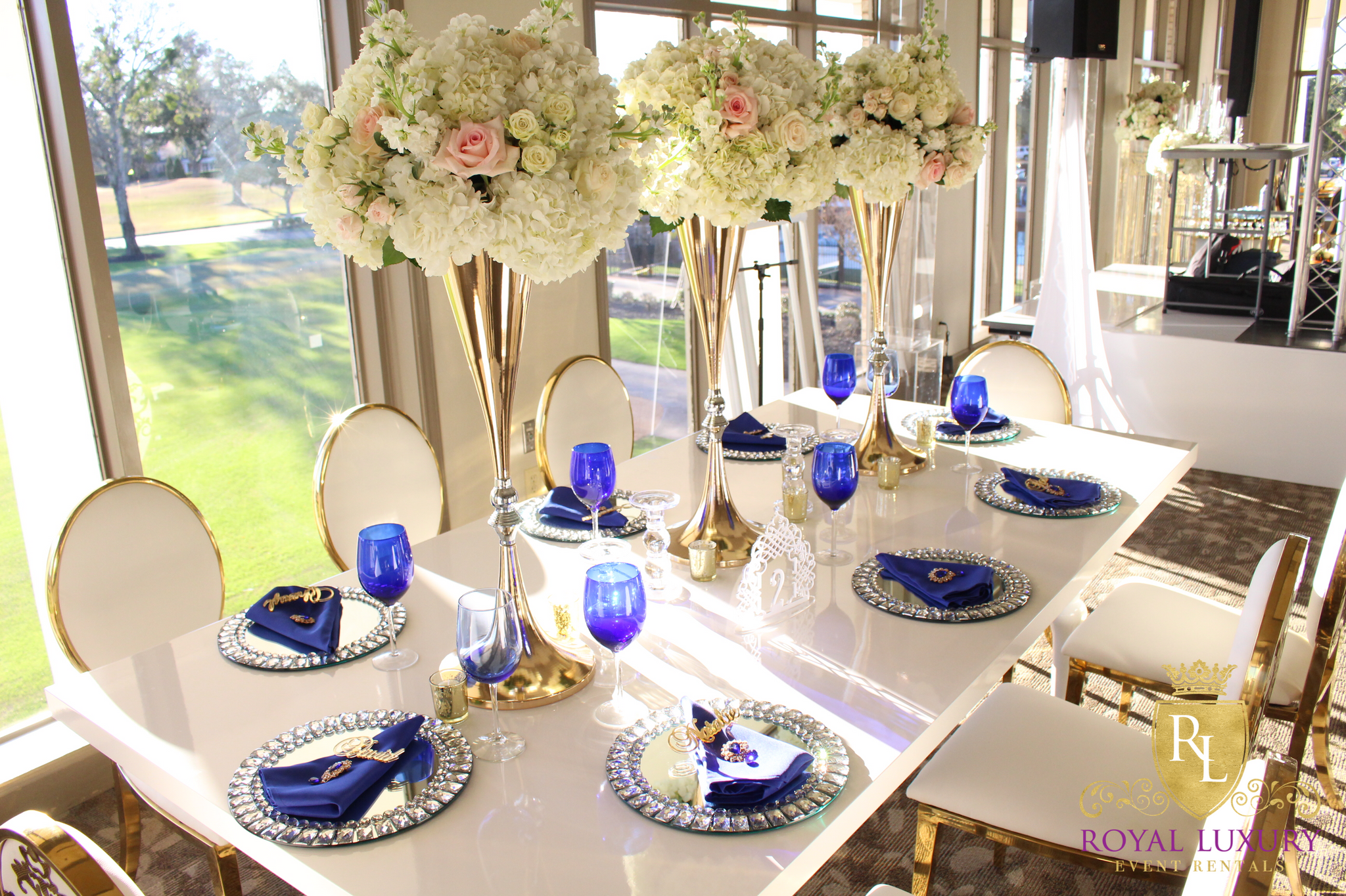 8 Foot All White Sweetheart Or Dining Table Royal Luxury Events Rentals
