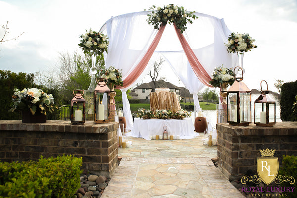 Royal 12 Foot Round Halo Canopy & Royal 12 Foot Round Halo Canopy - Royal Luxury Events u0026 Rentals