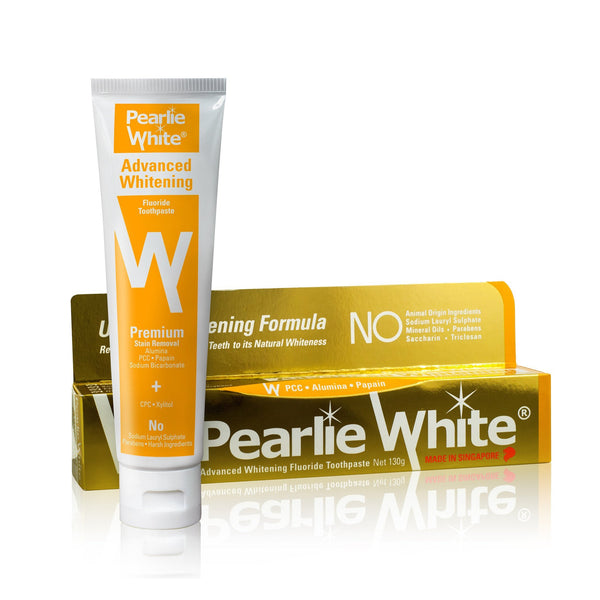 Advanced Whitening | Fluoride Toothpaste 130gm - Pearlie White