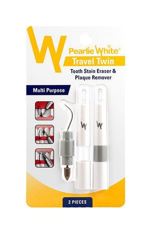 Travel Twin | Plaque and Stain Remover - Pearlie White