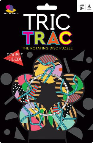 Brainwright Tric Trac- The Rotating Disc Puzzle
