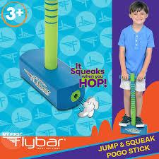 Flybar My First Foam Pogo Jumper for Kids Fun and Safe Pogo Stick, Durable Foam and Bungee Jumper fo