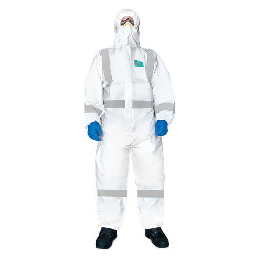 PG2000S MICROPOROUS COVERALLS (REFLECTIVE)