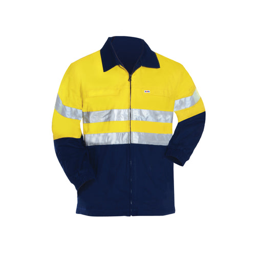 COTTON SAFETY JACKET (REFLECTIVE)
