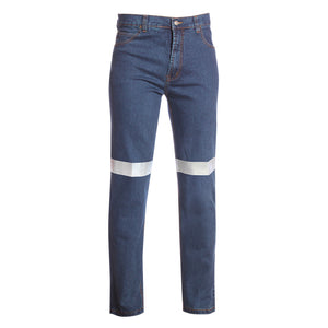 RIGGERS COTTON DENIM JEANS WITH REFLECTIVE
