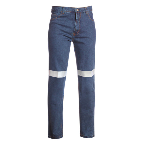 COTTON DENIM JEANS (REFLECTIVE)