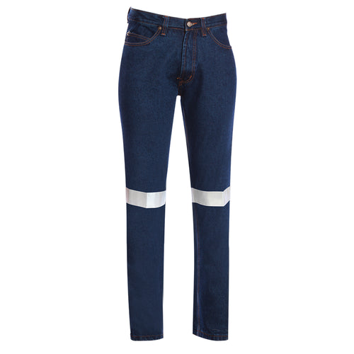 STRETCH DENIM JEANS (REFLECTIVE)