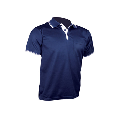 RIGGERS SHORT SLEEVE POLYCOTTON POLO