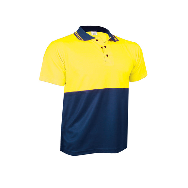 SHORT SLEEVE PIQUE COTTON BACK POLO