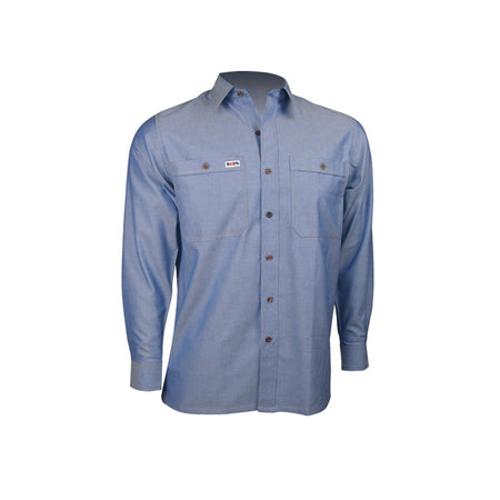 LONG SLEEVE POLYCOTTON SHIRT