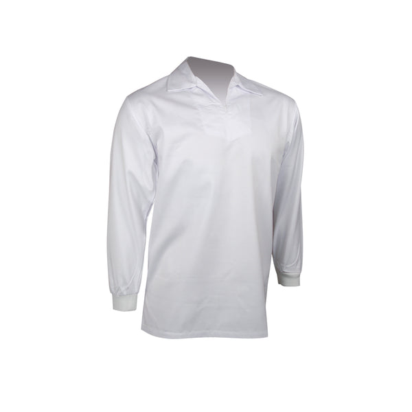 LONG SLEEVE POLYCOTTON FOOD SHIRT
