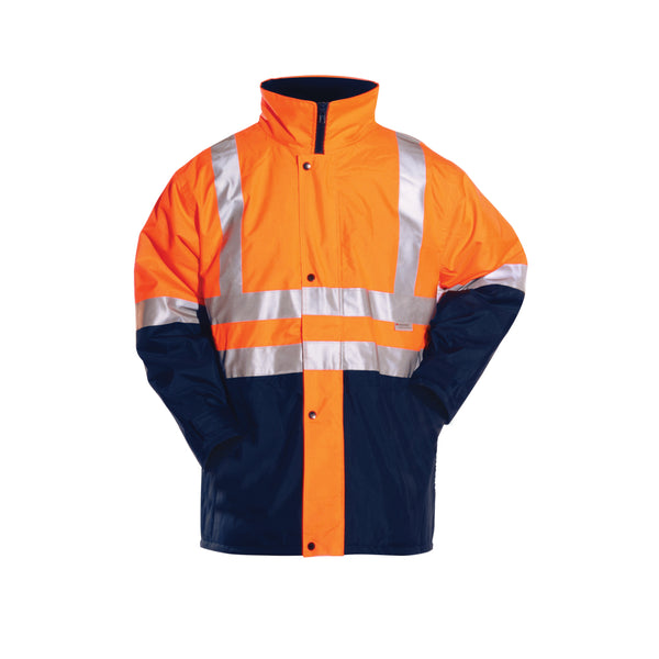 SAFETY QUILTED STORM JACKET (REFLECTIVE)