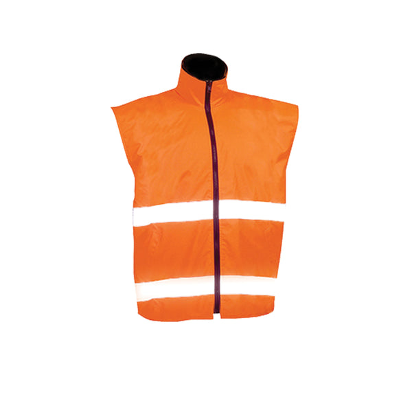 SAFETY REVERSIBLE VEST (HOOP REFLECTIVE)