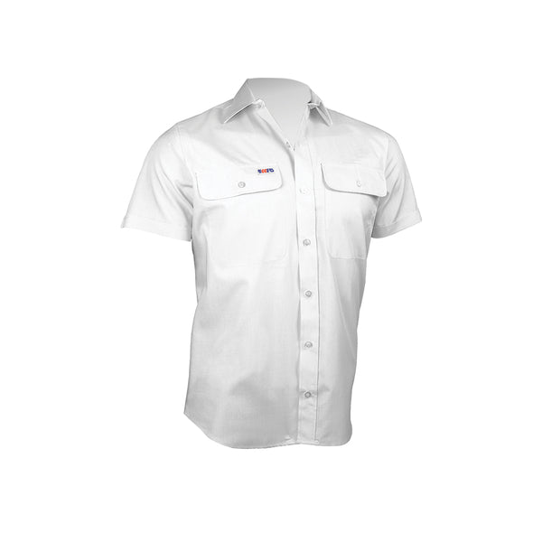 SHORT SLEEVE POLYCOTTON SHIRT