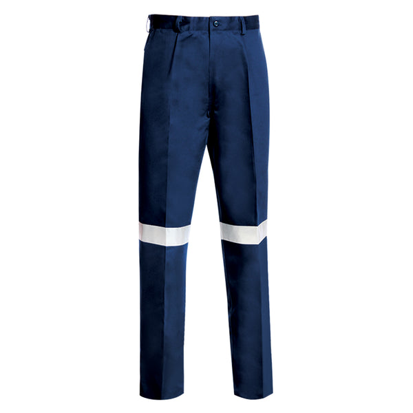 HEAVY WEIGHT COTTON TROUSERS (REFLECTIVE)