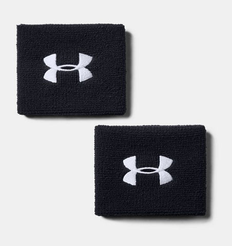 "Under Armour Men's UA 3"" Performance Wristband - 2-Pack"