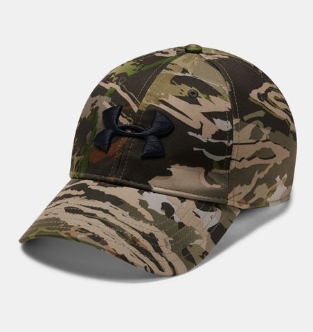 Under Armour Men's UA Camo Stretch Fit Cap Updated Hat
