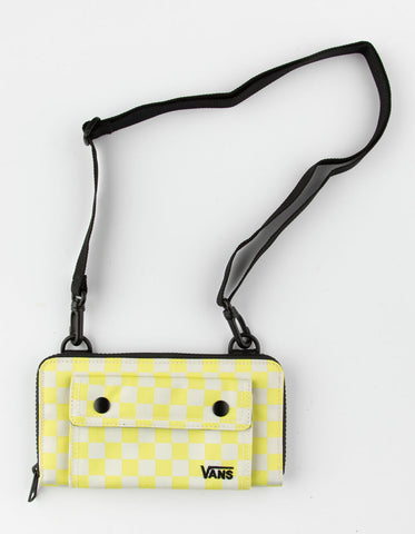 Vans Womens Street Ready Lemon Tonic Checkerboard Wallet