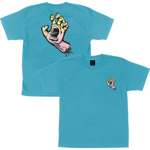 Santa Cruz Youth Pastel Screaming Hand Tee