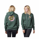 Santa Cruz Womens Other Dot Zip Hoodie