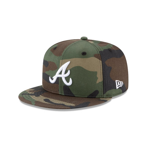 New Era Atlanta Braves Basic MLB 9FIFTY Snapback Hat