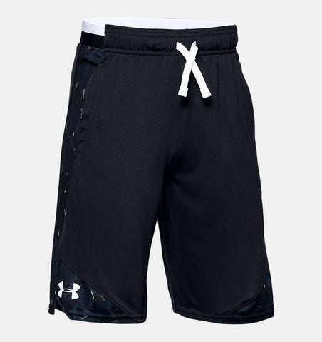 Under Armour Boys Stunt 2.0 Printed Shorts
