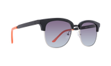 Spy Refresh Stout Sunglasses - Matte Black Gloss Tangerine  - Ocean Fade