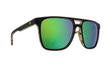 Spy Czar Sunglasses - Matte Black/Kushwall - HD Plus Bronze with Green Spectra Mirror