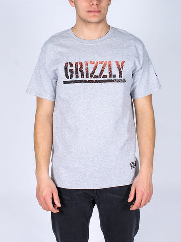 Grizzly Stamp Fadeaway Champion Tee