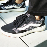 Vans Womens Blur Checker Ultrarange EXO Shoes