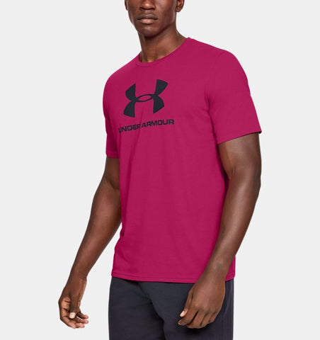 Under Armour Mens Sportstyle Logo Tee