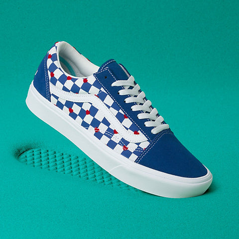 Vans Kids Autism Awareness Comfycush Old Skool Shoes