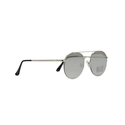 Vans Top Down Aviator Sunglasses - Silver-Silver Mirror