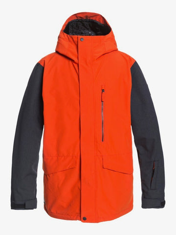 Quiksilver Mens Mission 3-in-1 Shell Snow Jacket