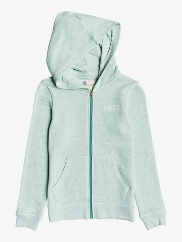 Roxy Girl Bicicleta A Zip-Up Hoodie
