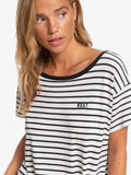 Roxy W Wake Up With The Sun Tie-Side Tee