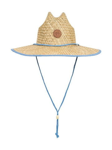 Roxy Girls' Pina To My Colada Straw Sun Hat