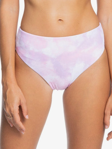 Roxy Womens Sea & Waves Revo Reversible Bikini Bottoms