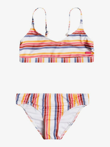 Roxy Girls Lovely Senorita Athletic Bikini Set