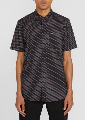 Volcom Mens Levstone Vibes S/S Button Up