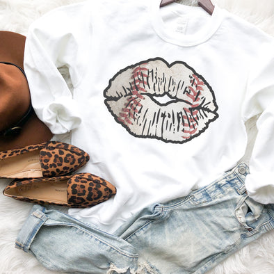 Baseball Lips Sweatshirt