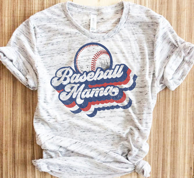 Retro Baseball Mama Shirt