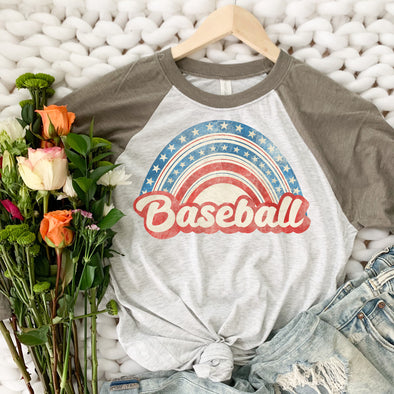 Rainbow Baseball Shirt