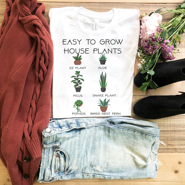 Easy To Grow House Plants T Shirt