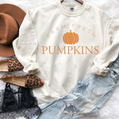 Farm Fresh Pumpkin Sweatshirt